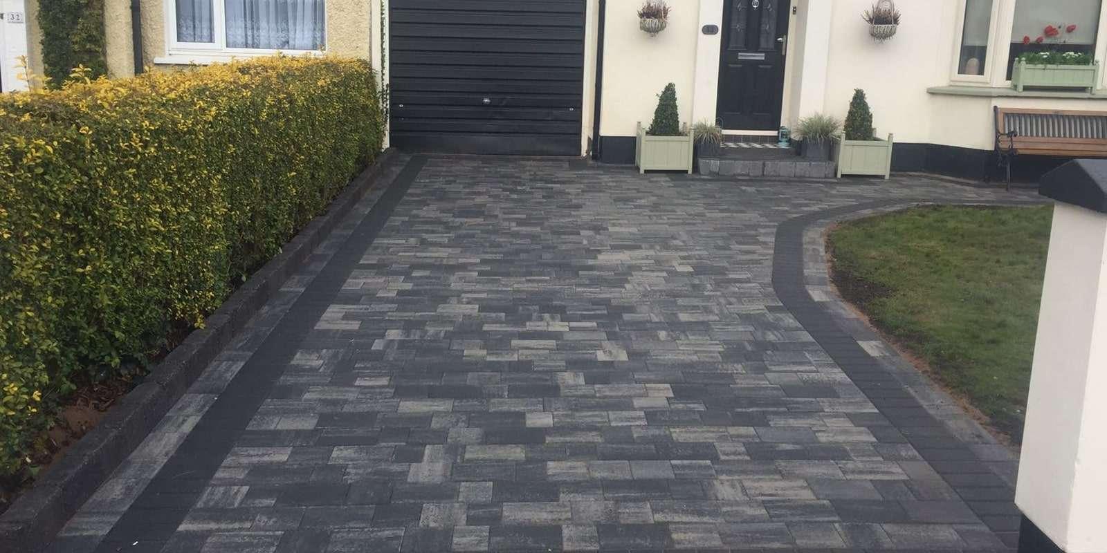 imprinted concrete driveways dublin
